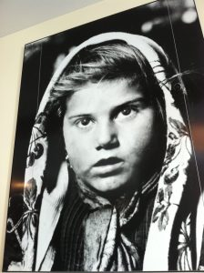 photo of child that came through Ellis Island