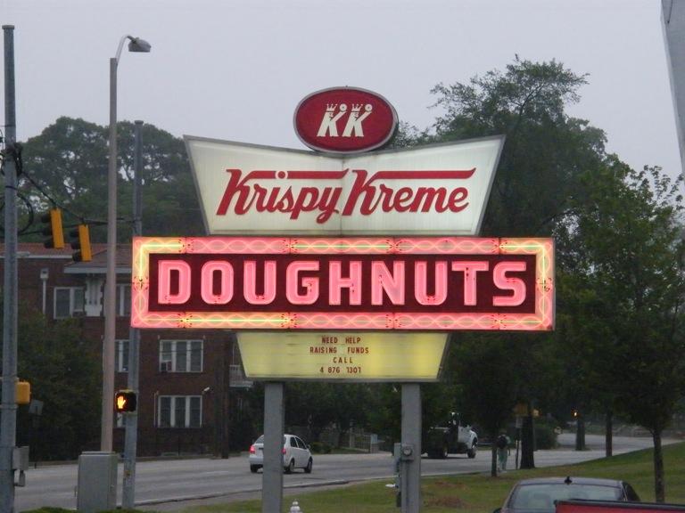 Kripy Kreme Doughnuts