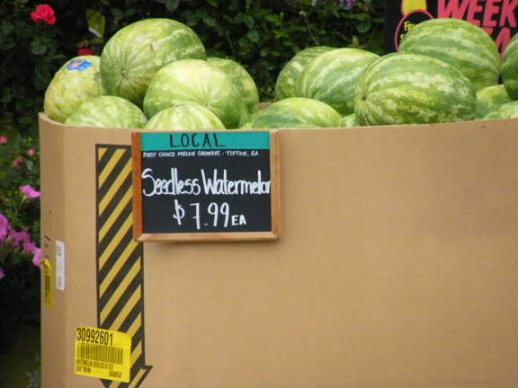 watermelons at whle foods